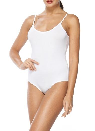Modal İnce Askılı Kadın Body-Sevim